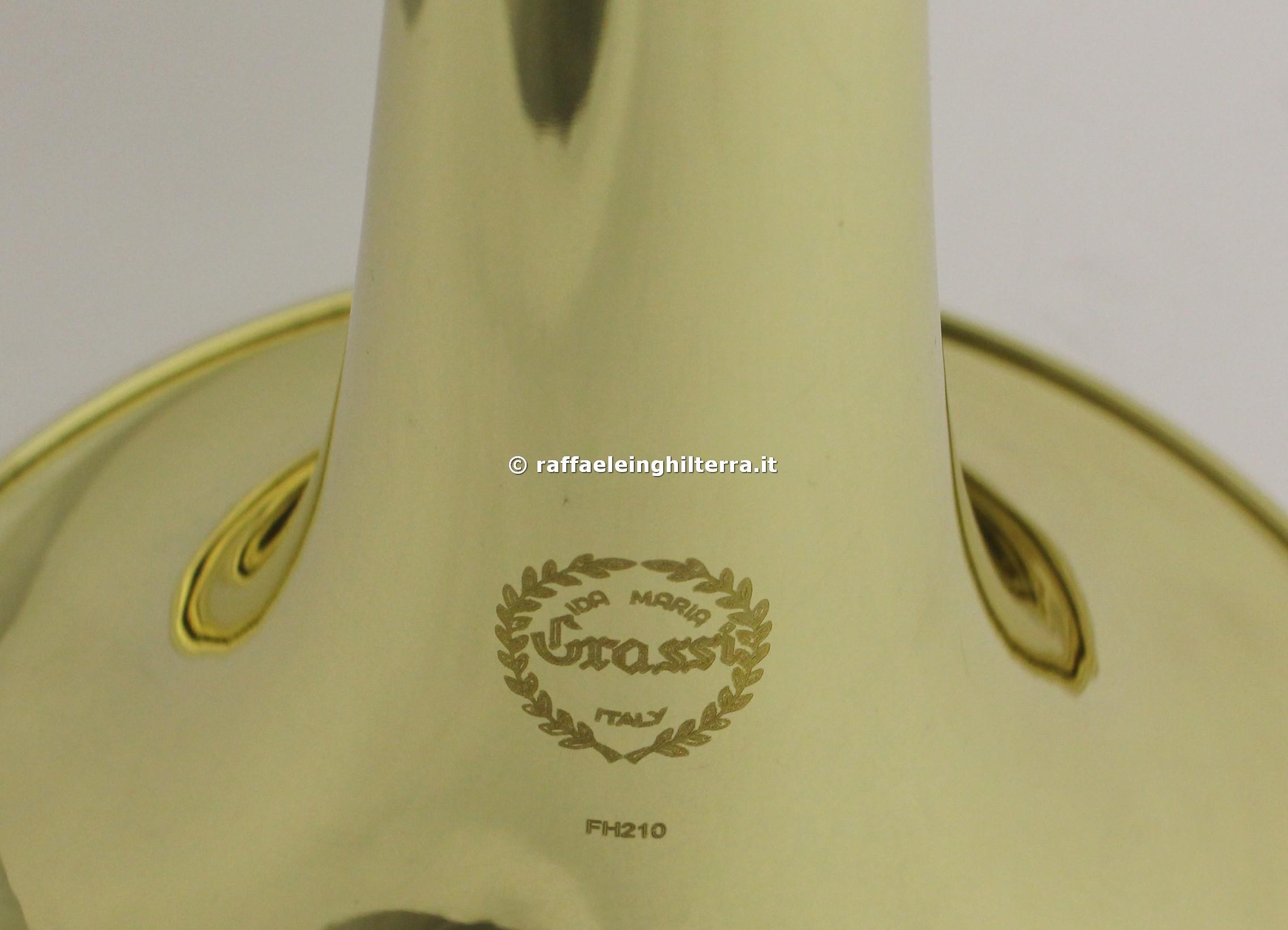 Grassi corno fa sib campana fissa FH210 laccato - Raffaele Inghilterra 259867e38ca6