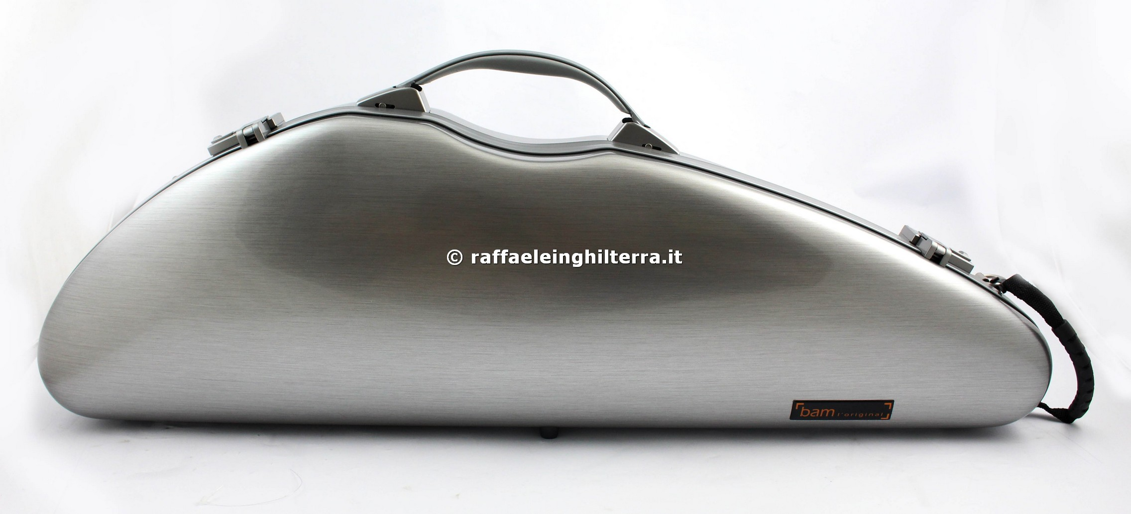 Bam custodia violino mod. La Defense DEF2000XLA Brushed Aluminum