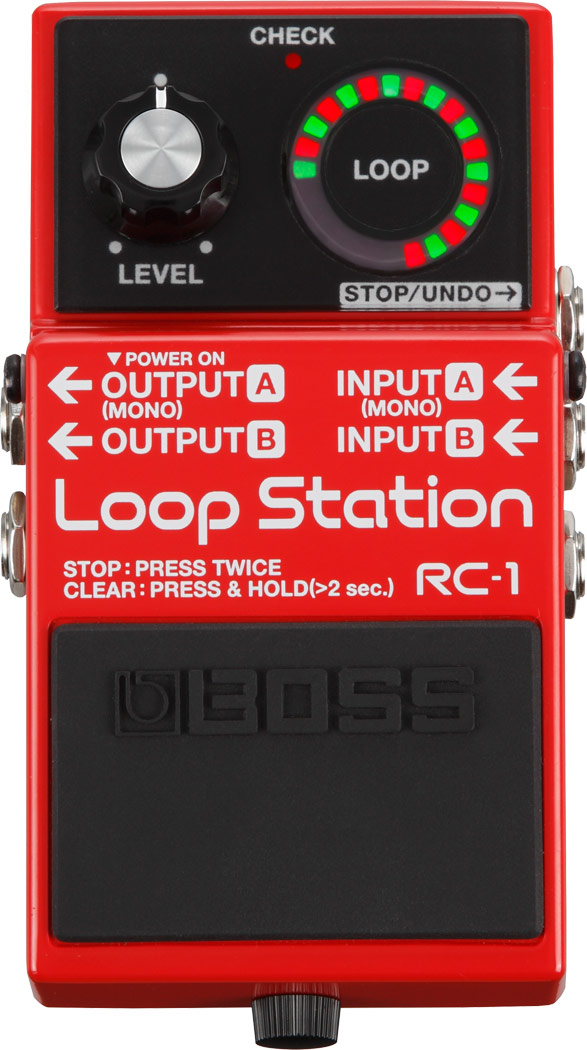 Boss pedale loopstation chitarra e basso mod. RC1